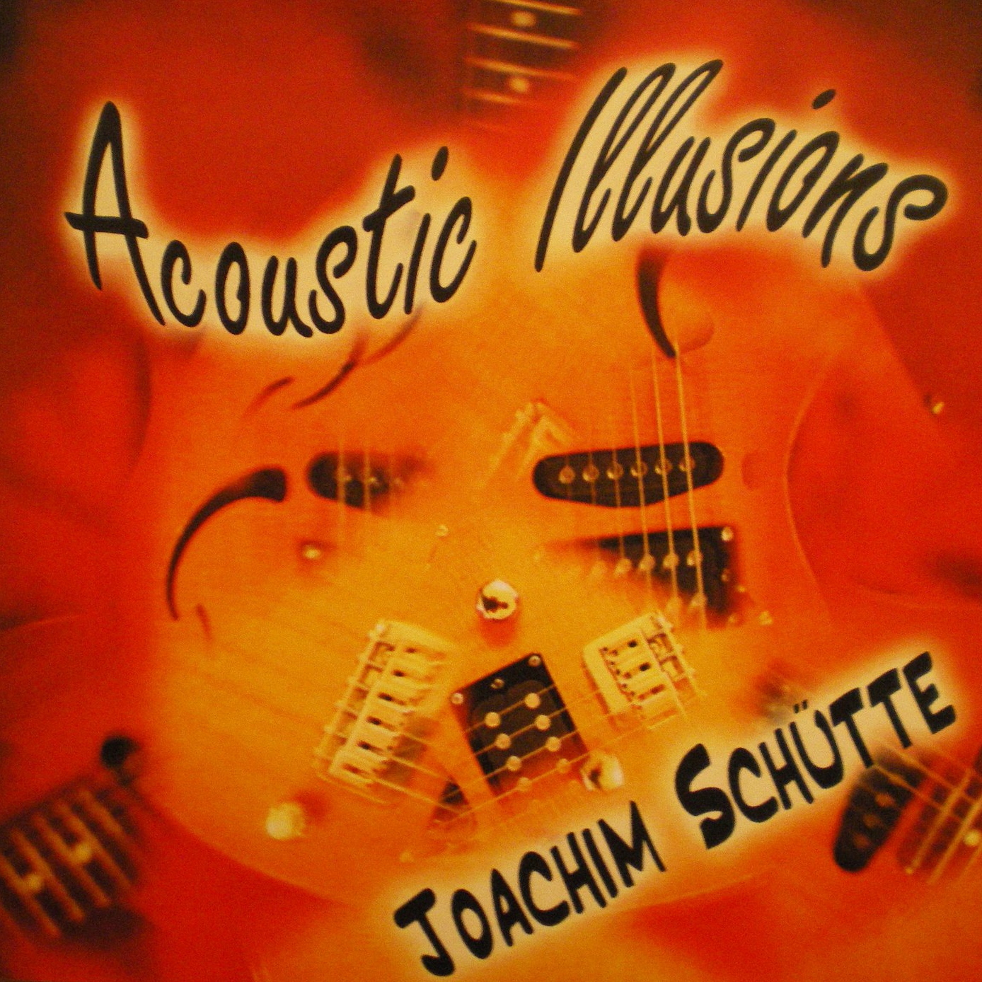 CD Joachim Schütte - Acoustic Illusions